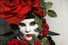 venetian karneval Royaltyfri Fotografi