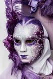 Venetian karnevalmaskering Arkivbild