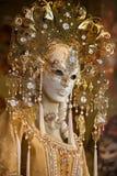 Venetian karnevalmaskering Fotografering för Bildbyråer