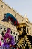 venetian karnevalmaskering Royaltyfri Foto