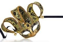 Venetian karnevalmaskering för tappning Arkivbilder
