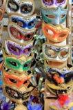 Venetian karnevalmaskeringar Royaltyfri Bild