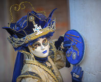 Venetian karnevalmaskeringar Royaltyfri Foto