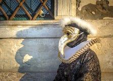 Venetian karnevalmaskeringar Royaltyfri Fotografi