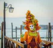 Venetian karnevalmaskeringar Royaltyfria Foton