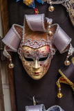 Venetian karnevalmaskeringar som hänger - 4 Royaltyfri Foto