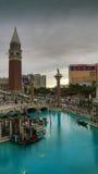 Venetian kasino Arkivbild