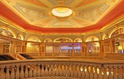 Venetian kasino i Macao Arkivbilder