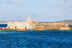 Venetian Kastro in Naoussa Royalty Free Stock Photos