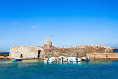 Venetian Kastro in Naoussa Royalty Free Stock Images