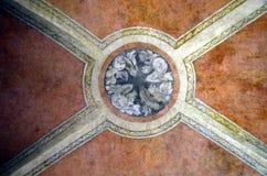 Venetian katolsk väggmålning Royaltyfria Bilder