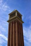 Venetian Kolonn Placa de Espanya Arkivfoton