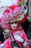 venetian komplicerad förklädnad Fotografering för Bildbyråer