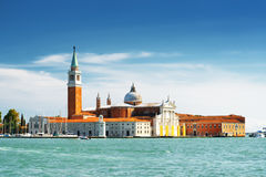 The Venetian Lagoon and the Church of San Giorgio Maggiore. Ital Stock Image