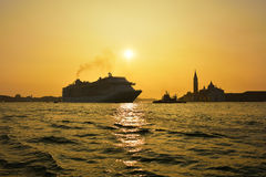 Venetian Lagoon Royalty Free Stock Photos