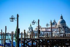 Venetian lagun Arkivbilder