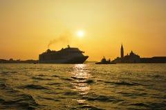 Venetian lagun Royaltyfria Foton