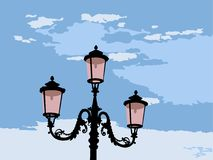 Venetian lamp Royalty Free Stock Photo