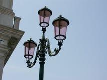 venetian lampgata Arkivbilder