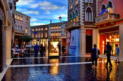 Venetian, Las Vegas Royalty Free Stock Photography