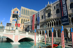 The Venetian Las Vegas, Las Vegas, NV Stock Photos