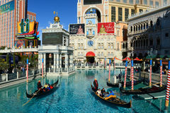 The Venetian Las Vegas, Las Vegas, NV Royalty Free Stock Images