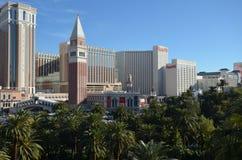 The Venetian Las Vegas, metropolitan area, skyline, landmark, city. The Venetian Las Vegas, it`s metropolitan Strip area, with an impressive skyline, landmark Royalty Free Stock Photography
