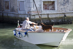 Venetian life Stock Photography