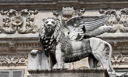 Venetian lion Royalty Free Stock Image