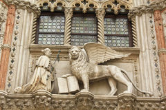 Venetian lion Royalty Free Stock Photos