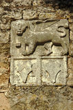 Venetian lion in citadel, City of Zakynthos, Stock Photos