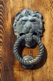 Venetian lion head door knob Stock Photography