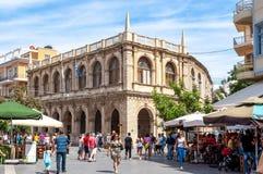 Free Venetian Loggia In Heraklion, Crete Island, Greece Stock Images - 142208214