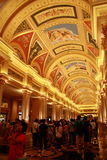 The Venetian Macao. Is a hotel and casino resort in Macau owned by the Las Vegas Sands corporation. The Venetian is a 40-story, $2.4 billion anchor for the 7 Stock Image