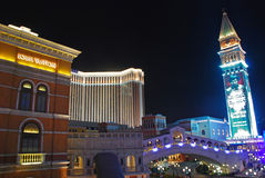 The Venetian Macao Building taken from Outside Stock Photos