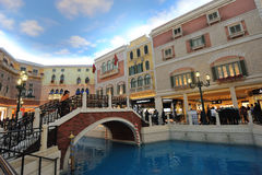 The Venetian Macao interior Royalty Free Stock Image