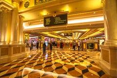 Venetian Macao kasino Royaltyfria Foton