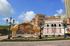 The Venetian Macao Royalty Free Stock Photography
