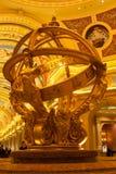 Venetian Macao Resort Hotel interior details Royalty Free Stock Image