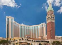 The Venetian Macau Resort Hotel royalty free stock photos