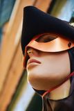 Venetian mannequin with mask Royalty Free Stock Images