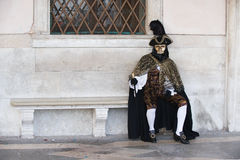 Venetian mans mask Stock Photo