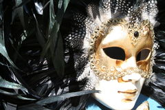 Venetian mask 1 stock photo