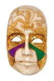 Venetian mask. On white background Stock Images