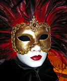 Venetian Mask. Used for Carnival celebrations in Italy Royalty Free Stock Image