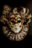 Venetian Mask. Isolated on black background Stock Photo