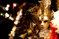 Venetian mask. Luxury venetian mask at night Stock Images
