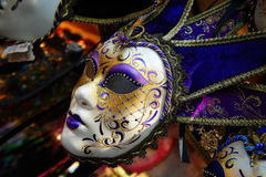 Venetian Mask. Close up of Colorful Venetian Mask on display SDF Stock Photography
