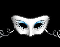 Venetian mask. In editable vector format vector illustration