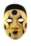 Venetian mask. Isolated on white